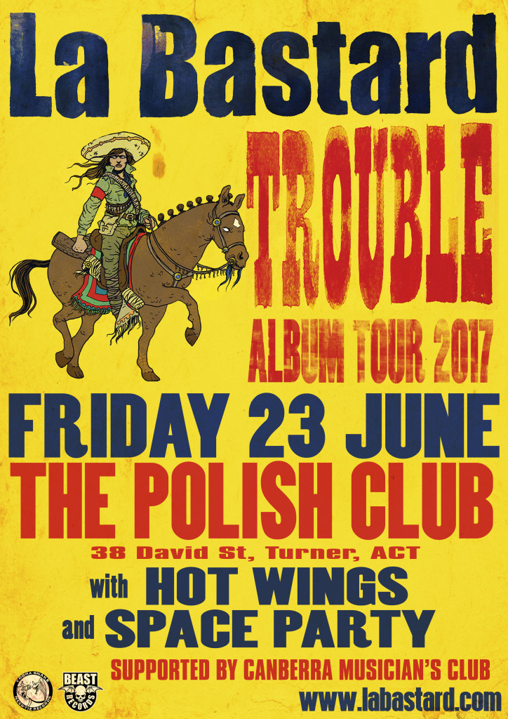 La Bastard Trouble Canberra Polish Club