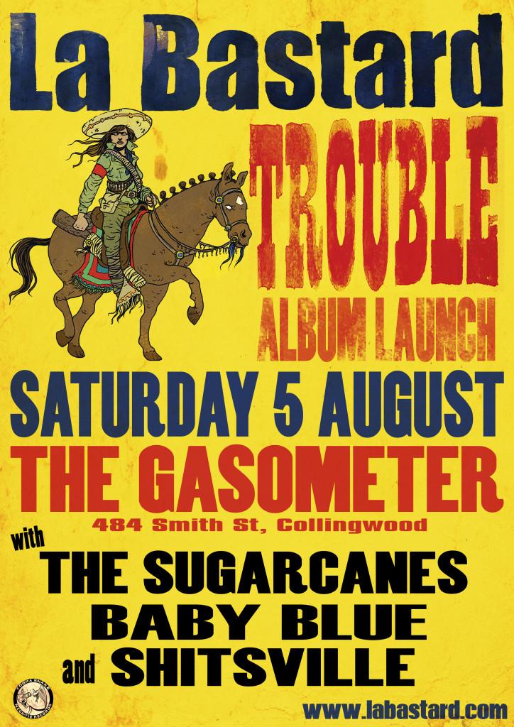 La Bastard Trouble Gasometer Album Launch